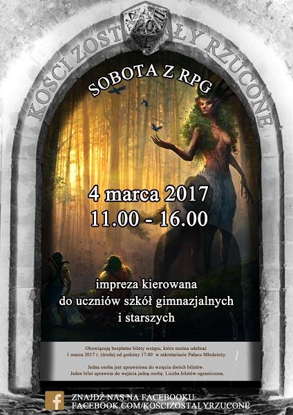 Kości - marzec 2017 - plakat